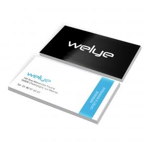 Imprimeur cartes de visite paris pelliculage mat brillant soft touch peau de peche