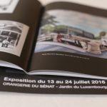Brochures dos carré collé
